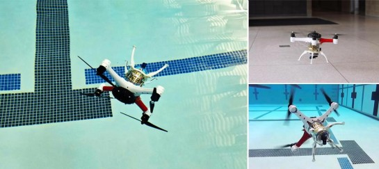 Loon Copter | Over and Under Water Drone