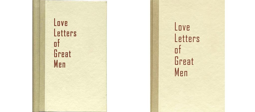 love letters of great men letters of great jebiga design amp lifestyle 1485