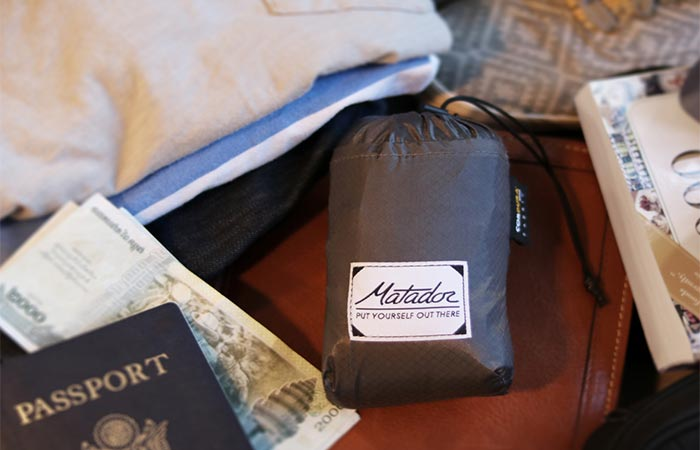 Matador FreeRain24 Waterproof Backpack Packed Into The Pouch