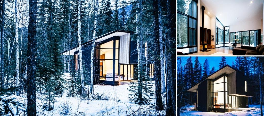 Modern British Columbia Cabin
