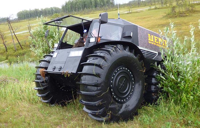 Amphibious Vehicle For Sale >> Sherp ATV | Latest Russian ATV | Jebiga Design & Lifestyle