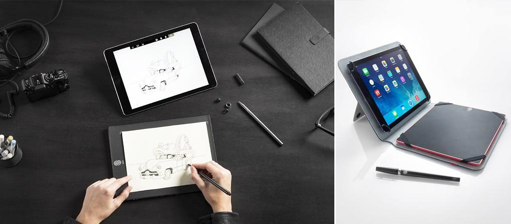 the slate smart drawing pad by iskn jebiga design lifestyle. Black Bedroom Furniture Sets. Home Design Ideas