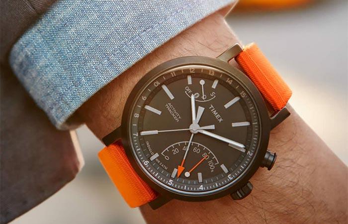 Timex Metropolitan Plus Activity Tracker On A Wrist