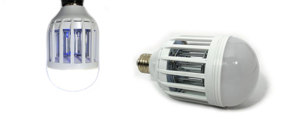 Bug Terminator Ultimate Mosquito Killer and Pest Control LED Bulb