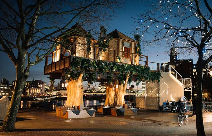 Virgin Holidays' South African Treehouse At Night
