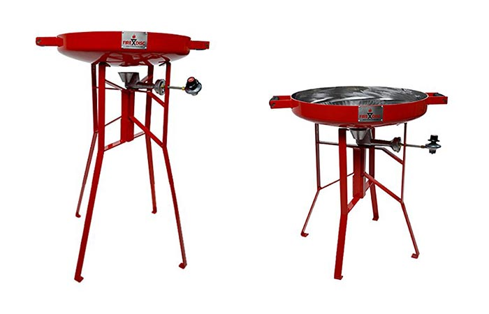 Fire Disc Grills Two Sizes