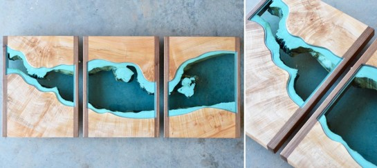 River Divided Wall Art | By Gregory Klassen