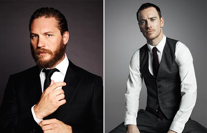 Tom Hardy and Michael Fassbender