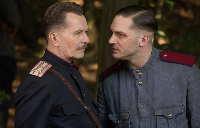 Tom Hardy and Gary Oldman in Child 44