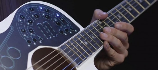 ACPAD | Midi-Controller For Acoustic Guitars