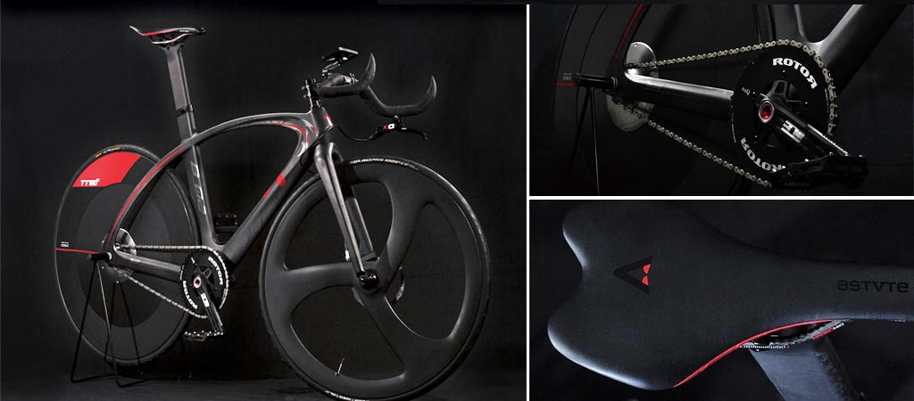 T°RED BestiaNera Hybrid Bike