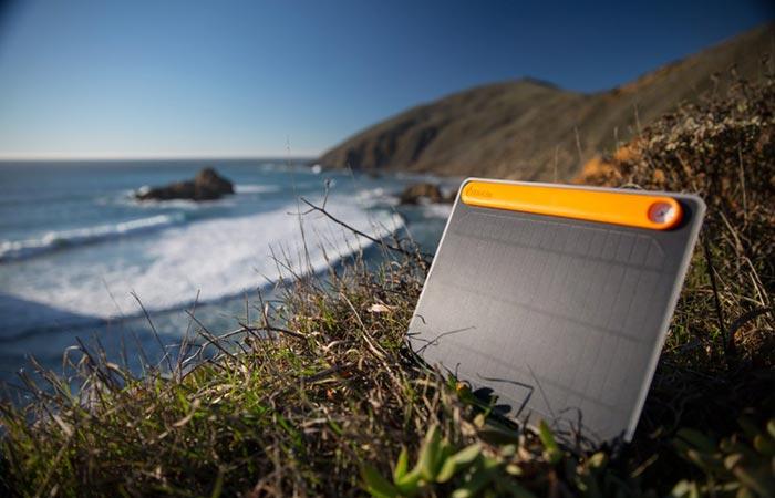 BioLite Solar Panel 5+ On A Beach