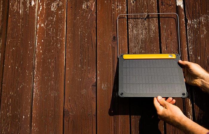 Hanging The BioLite Solar Panel 5+