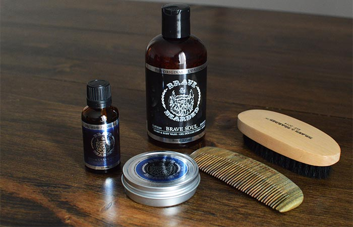 Five Brave And Bearded Beard Products