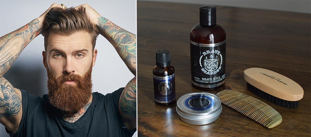 Brave And Bearded Urban Edition Beard Products