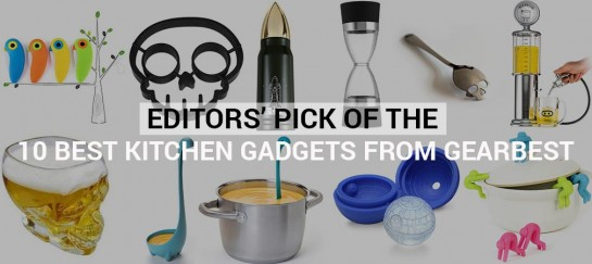 Editors' Pick Of The 10 Best Kitchen Gadgets From GearBest