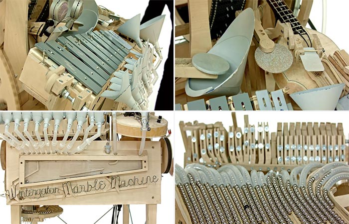 Four Images Of Music Marble Machine