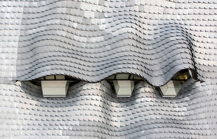 The Roof Tiles On The Mediterranean Dragon House