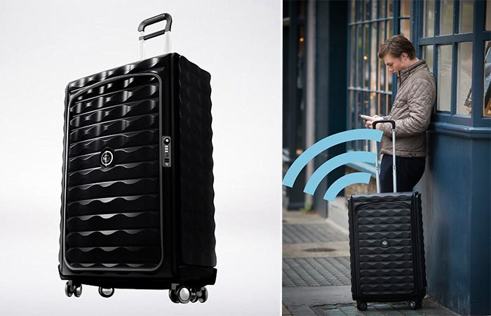 Néit Luggage GPS Feature