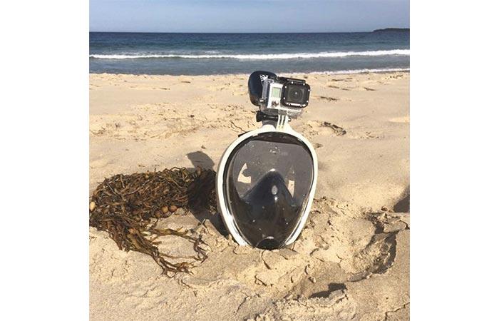 NEOpine Full-Face GoPro Snorkeling Mask