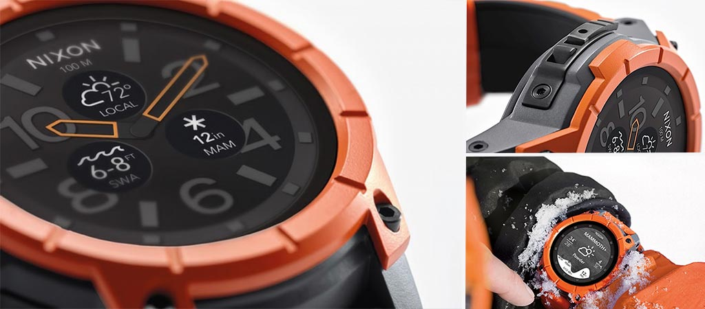 Nixon Mission Android Smartwatch For Action Sports