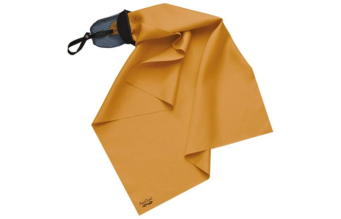 Orange Packtowl Nano Towel