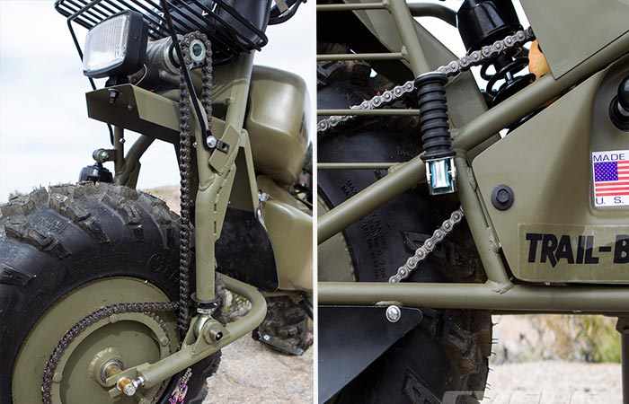 Details On Rokon Trail-Breaker Dirt Bike