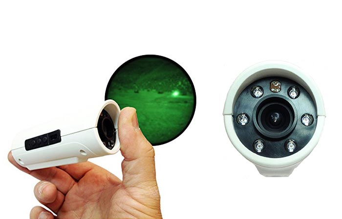 White Snooperscope In A Hand