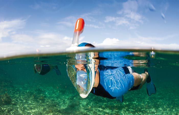 Tribord Easybreath Snorkeling Mask
