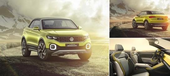 Volkswagen T-Cross Breeze Convertible SUV