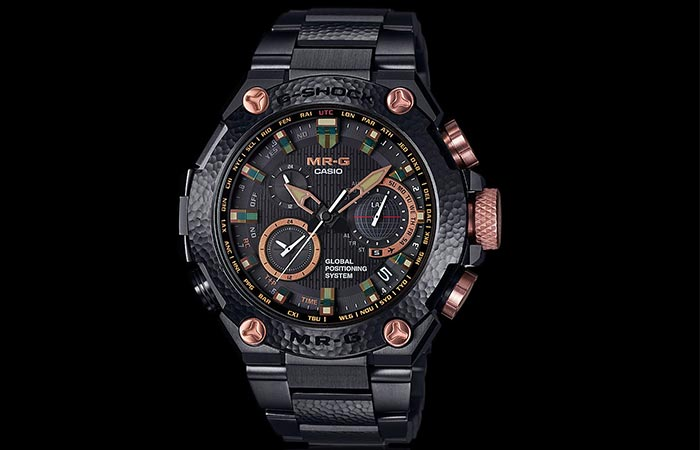 Casio's Limited Editon Of Hammer Tone MR-G Watch