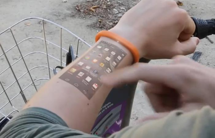 Cicret Bracelet The World S First Smartphone Wristband