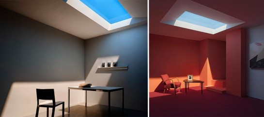 Coelux Artificial Light Simulates Tropical And Nordic Light