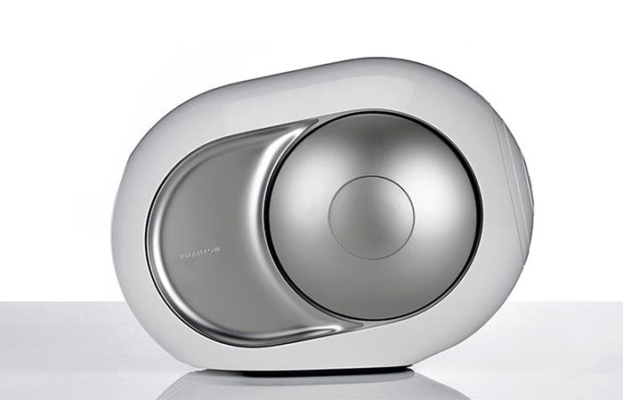 Devialet Silver Phantom From The Front