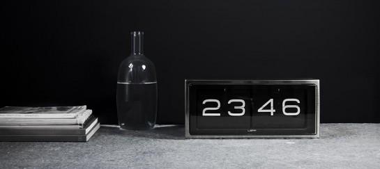 Leff Amsterdam Brick Vintage Flip Clock