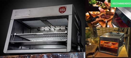 Otto's Over-Fired Broiler | The 1700⁰F/970⁰C Gas Grill For That Perfect Steak