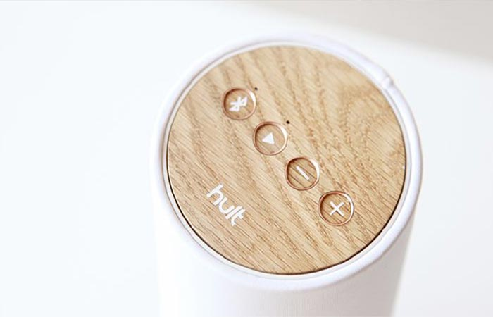 The Wooden Surface Of Pavilion Speaker