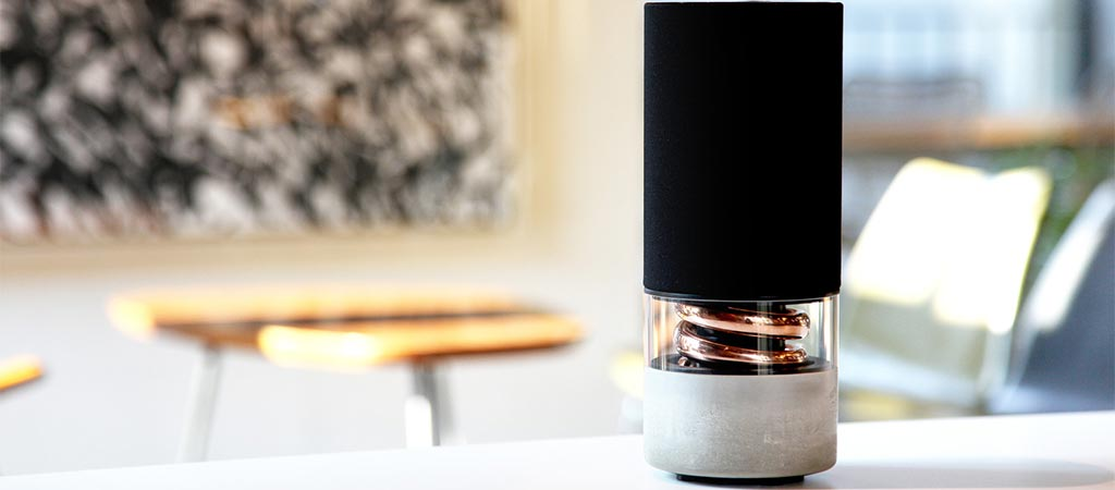 Pavilion Speaker | By Hult Design