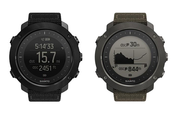 Two SUUNTO Traverse Alpha Watches