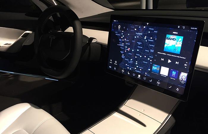 The Inside Of Tesla Model 3
