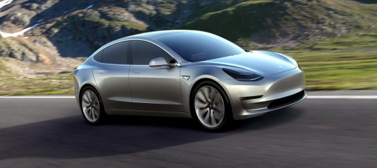 NEW! Tesla Model 3 | IMAGES Revealed
