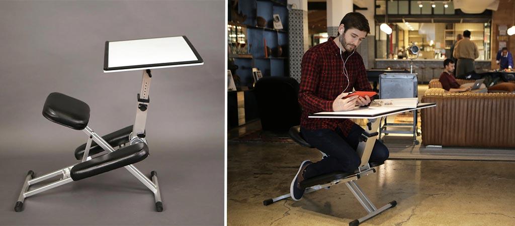 The Edge Desk Ergonomic And Foldable Workstation
