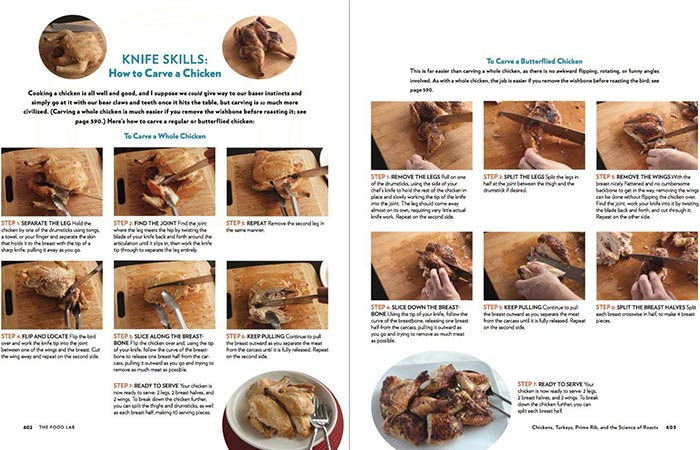 Pages From The Book The Food Lab: Better Home Cooking Through Science