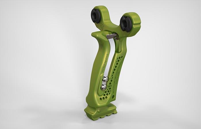 Green Hammer Slingshot