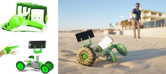 Ziro   World's First Hand-controlled Robotics Kit