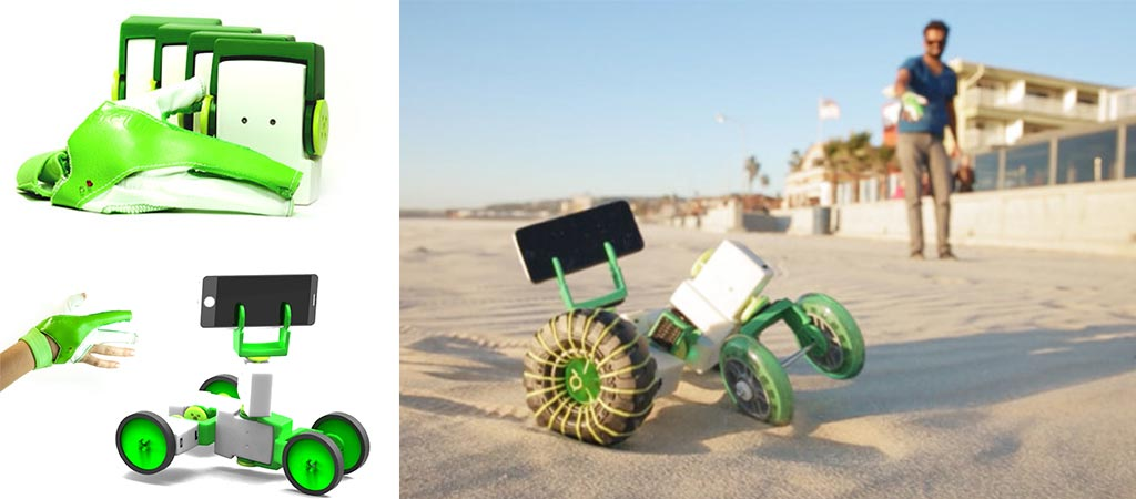 Ziro | World's First Hand-controlled Robotics Kit