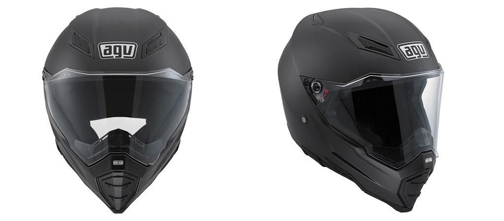AGV AX-8 EVO Naked Road Helmet on white background