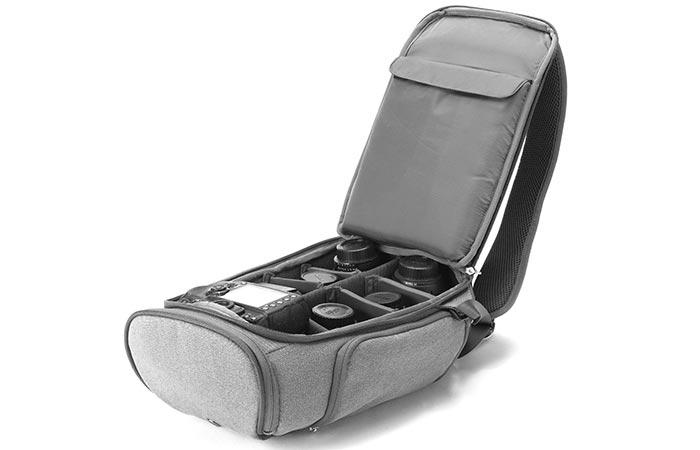 Booq SP-GRY Slimpack Opened