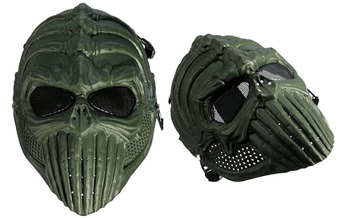 Camtoa Overhead Mask with white background