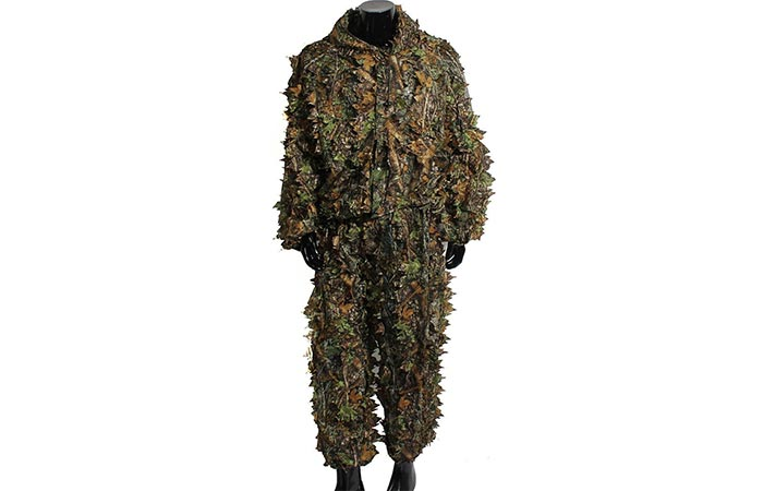 Outerdo Ghillie Suit with a white background